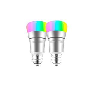 Ampoule LED WIFI intelligente multicolore Dimmable 7W 9W RVB Ampoules LED Contrôle de la voix avec Alexa Google Home Compatible IOS android