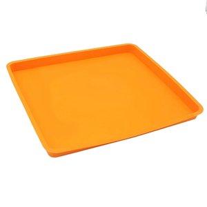 Rolo suíço bolo Mat flexível Baking Tray Jelly Roll Pan Silicone cookies molde Bakeware Outros Bakeware