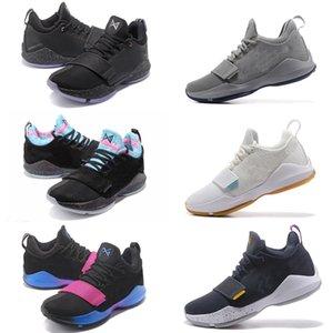 NOUVEAU PG 1 chaussures de basket-ball avec la boîte ventes chaud Acheter chaussures pas cher Paul George Boutique en ligne de gros US7-US12