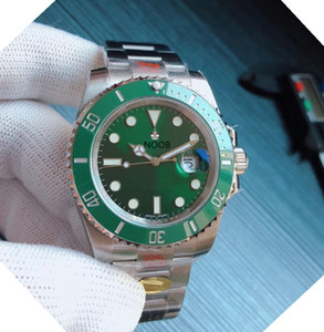 N V10 orologio di Lusso 40mm Durchmesser 904L-Edelstahl-Keramik-Ring Mund 2836/3135 Bewegung Uhren Designer-Uhren
