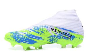2020 scarpe Nuovo Nemeziz 19+ FG Calcio polarizzare scure 302 Redirect pacchetto scuro Script Hardwired interno Gioco Mutator Uniforia pacchetto scarpa da calcio
