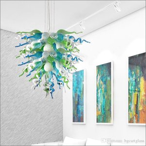 Antique Indoor Glass Pendant Lamps New Arrival Warranty Colorful Hot Sale Hand Blown Glass Chandelier for Hotel Lobby Decor Art Decoration