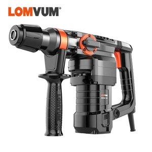 LOMVUM 28MM électrique rotatif Perceuse 220 V impact Hammers Indurstial 1300W électrique BREAKER Outils d'alimentation CA 50 Hz
