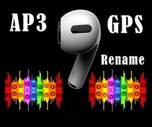 H1 رقاقة AP3 الايجابيات سماعات إعادة تسمية GPS توس سماعات الموالية الاستشعار الذكية اللاسلكية ضغط الشحن استشعار PK رقاقة W1 AP2 I12 I500 I200