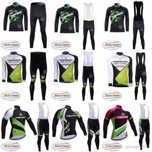 MERIDA Winter long sleeve cycling jerseys pants bike bicycle thermal fleeced wear set Plush fabric bib pants sets C1021