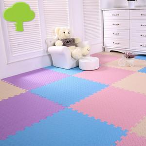 alfombra gruesa de espuma de 2 cm de gran tamaño 60cm * 60cm tapetes arrastre de la estera de costura dormitorio colchón rompecabezas PE Eco Friendly cojín suave