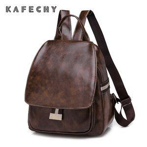 New Fashion Leather  Backpack for Women PU Backpacks Student School Bag Ladies Girls Bagpack Shoulder Bag Mochilas