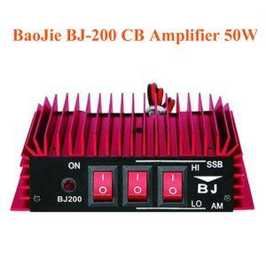 Baojie BJ-200 CB-Funk-Endverstärker 50W HF-Verstärker 3-30 MHz AM / FM / SSB / CW Walkie Talkie CB Verstärker