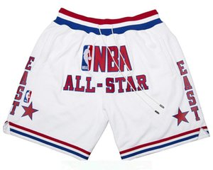 MEN 1988 All-Star East Shorts White JUST DON Pocket pants By Mitchell & Ness S-2XL