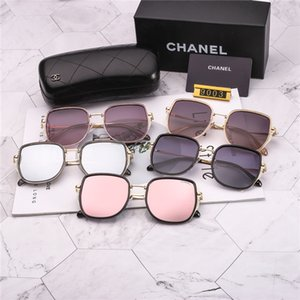 Retro Polarized Mens Designer Sunglasses Rimless Gold Plated Square Frame Sun Glasses Fashion Eyewear With Case