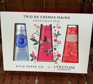 Newest Gift Box Hand Cream Kit EN PROVENCE 3 4pcs Set 30ml Hands Skin Care with Gift bag
