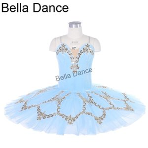 Ballet Tutu Pancake Classical Ballet Tutu Performance Stage Competition Ballerina Blue Stage Platter 18080