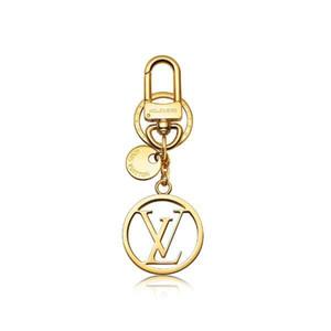 Luxury High Quality Keychains Дизайнер Ключ сплав Модная ручная Марка брелок Кожа Стильного ключ Пряжка с коробкой