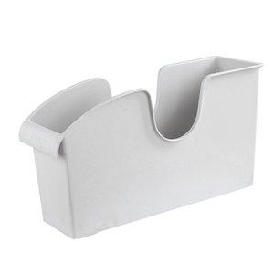 Kitchen Storage Box Bin with Rollers Cabinet Organizer Plastic Container with Handle Kitchen Tools Utensils Organizer Basket