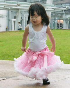 2016 bebés Kid Princesa Tutu Ballet Dança pettiskirt Tutus Top Vestido saias