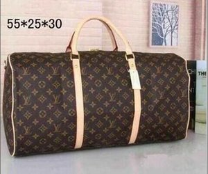 حقيبة يد ذات جودة عالية من طراز بو نيو إيول بو الجلد توت Leisure Durable Travel Bag Polochon Horizon Soft Luggage Duffle bag