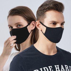 Em armazém de pó cara cobrir a boca PM2.5 Máscara Respirador Dustproof Anti-bacteriana lavável reutilizável Ice Silk Cotton Máscaras Ferramentas de ventilação