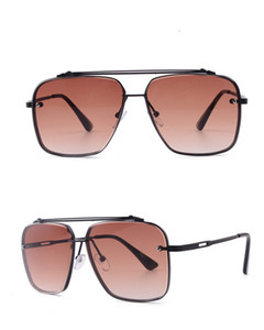 Polygonal бескаркасных отделан металла Eyewear мужские очки женщин-очковых ретро стиль акриловые линзы металлический каркас красивый дизайн цвета