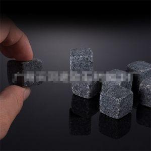 Preto Cinza Granito Bar Whiskey Pedras Multi Estilos Quadrados Forma Grão Gelo Vinho Pedra Nova Chegada 0 5by L1