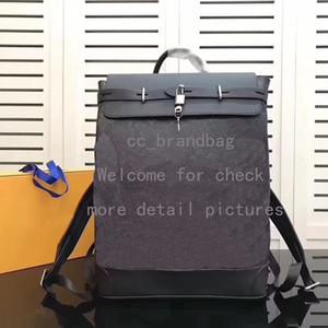 ZAINO STEAMER Borsa per laptop da uomo in vera pelle a spalla Borsa da viaggio di alta qualità Borse da weekend Borse da scuola Borsa da viaggio