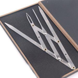 Paslanmaz Çelik Altın Oran KALIPERS Kaş Microblading Kalıcı Makyaj Tedbir Aracı Ortalama Altın Kaş DIVIDER Aracı