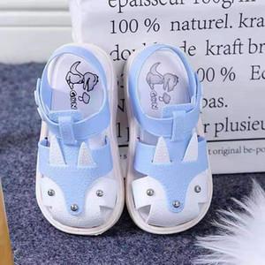 Children Kids Shoes Boys Girls Closed Toe Summer Beach Sandals Shoes Sneakers Baby Summer Newborn Infant Baby Girls Boy#20