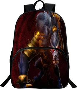 Warwick backpack The Uncaged Wrath of Zaun day pack Lol game school bag أوقات الفراغ packsack الجودة حقيبة الظهر الرياضة المدرسية daypack