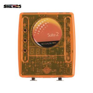 Sunlite Suite2 FC DMX-USD controller DMX 1536 Canale buono per discoteca del DJ KTV del partito luci a LED di illuminazione della fase Fase software di controllo