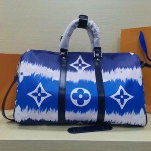 Sıcak Satış Blue Wave Batik Serisi Büyük Çanta Tote Büyük Boy Alışveriş Çantası Moda Lüks Tasarımcı Kadınlar Çanta Boyut 45X27X20CM