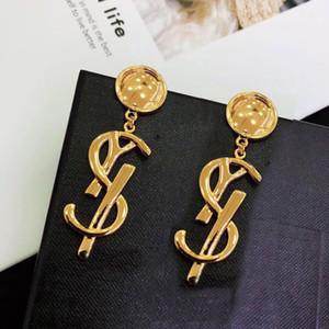 Есть марку моды бренда у дизайнерских серег для леди Женщины партий Свадебного Lovers подарок обручального Luxury Jewelry для невесты