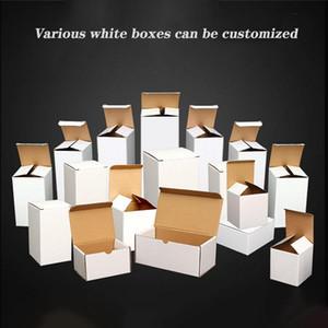 blanc boîtes en carton blanc cadeau boîtes Kraft papier boîtes pour 20 oz 30 oz courbe tumbler Maigre tumbler régulière tumbler gobelet personnalisé