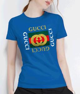 الجملة 100 ٪ مصمم القطن الفاخر قميص بولو قصيرة الكم القمصان فضفاضة عارضة مع الولايات المتحدة الأمريكية نمط طباعة
