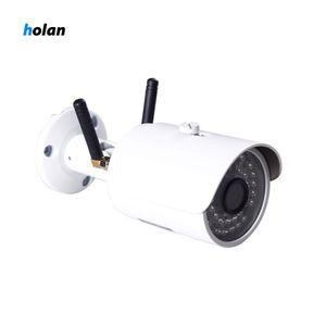 في الهواء الطلق 4G Wi-Fi IP Securiy كاميرا مصغرة شبكة رصاصة مراقبة لاسلكية 720P للرؤية الليلية CCTV