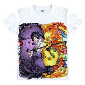 Anime Naruto T Shirt Uchiha Sasuke T-shirt Akatsuki Uchiha Itachi Shuriken Uzumaki Naruto BORUTO Cosplay Costume Top Tee Shirt