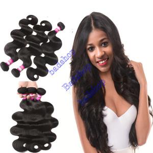 Peruviano capelli dell'onda del corpo Bundles 9a vergine peruviana dei capelli dell'onda del corpo di Lordo peruviano dei capelli umani estensioni nessuno spargimento