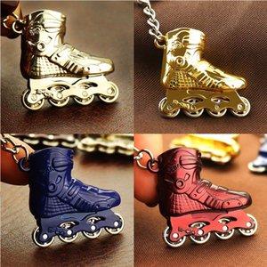 Moda Esportes Chaveiros Roller Skate keychain da bola Chaveiros Jóias acessórios criativos para a personalidade presente Key Titular M585Y