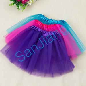 Mignon filles Tutu Jupe été bébé plissés Gauzy Mini robe Bubble maille Jupes Robes Costume Party Danse Ballet HABILLÉES enfants e3609
