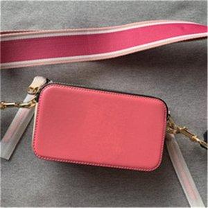 bolso de la cámara de alta calidad con los bolsos de la correa del color de la letra las letras fluorescentes bolsa de la correa de hombro diagonal femenina monederos bolsos