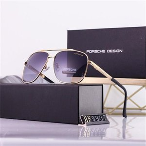 Fashion Oversized metal Sunglasses Vintage Large Frame Plank Lightweight Sunglass Men127