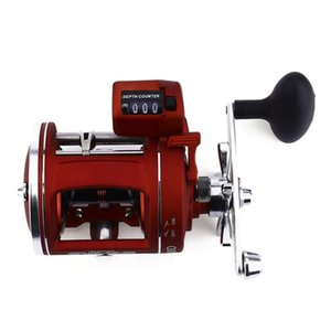 BEAU-YUMOSHI 12 Ball Bearings High Speed Fishing Reel With Electric Depth Counting Multiplier