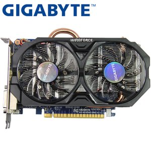 GIGABYTE Ekran Kartı Orijinal GTX nVIDIA GeForce GTX 750Ti HDMI, DVI 750 Ti 2GB 128Bit GDDR5 Ekran Kartı İkinci VGA Kartları