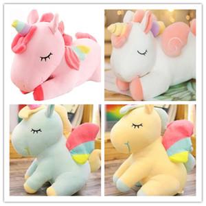 Единорог кукла Радуга пони однорогая лошадь плюшевые игрушки дети плюшевые игрушки подарок мягкие животные toysUnisex подарок