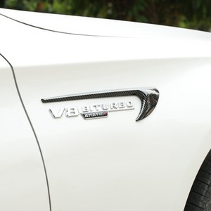 Applicable to Mercedes-B car standard modification V8 BITURBO side standard E63 leaf board standard back force air knife AMG tail