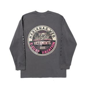 19FW VETEMENTS logo lettera Printied Felpa Uomo Donna Fashion Casual Pullover coppia Street Skateboard Manica Lunga Hfhlwy063
