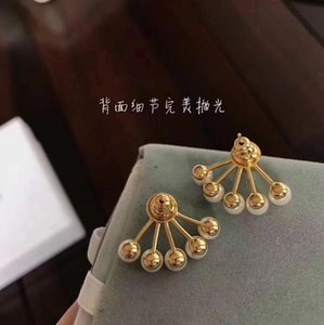 2019 New women's earring charming lively charismatic goddess essential elegant Graceful fashion S925 silver needle