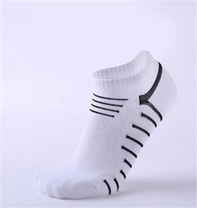 Imprimir la altura del tobillo tamaño respirable de los calcetines de primavera y verano varón libre Ropa para hombre Deportes calcetines deportivos de rayas