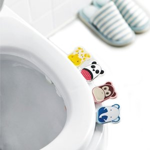 Cute Cover Lifter Toilet Seat Handle Bathroom Lid Cover Toilet Bowl Seat Lift Handle Bathroom Toilet Seat Holder Accessories