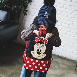 5-11 Yrs Baby Plush Backpack Canvas Toy Bag Mini Travel Bag Student School Kindergarten Backpacks Girls Bags Drop Shipping