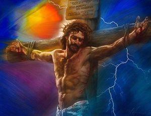 Nathan Greene DIE KREUZIGUNG Jesus auf Kreuz Home Decor Christian Oster-Kunstdruck-Ölgemälde auf Leinwand-Wand-Kunst Leinwandbilder 200109