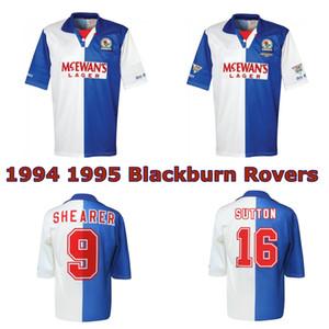 1994 1995 Blackburn Rovers retrò maglia da calcio 94 95 Blackburn Alan Shearer Sutton Hendry SHERWOOD BERG epoca maglia da calcio classico